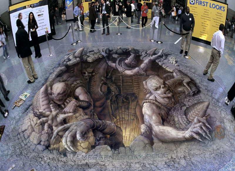 Граффити 3D рисунок