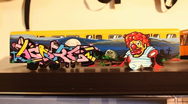 Выставка моделей вагонов, MOLOTOW x USTYLES