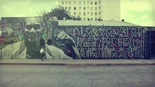 Видео: El Mac, Retna – Let The Arts Roam