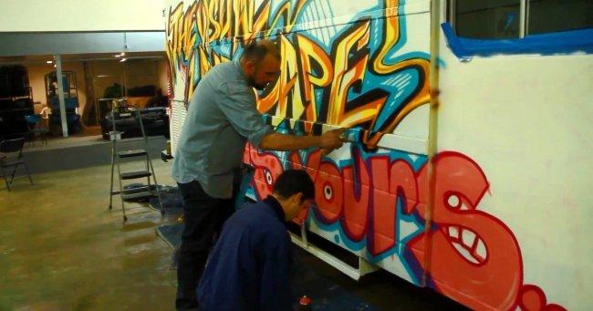 Street Artists vs. Illegal Billboards (Часть третья)