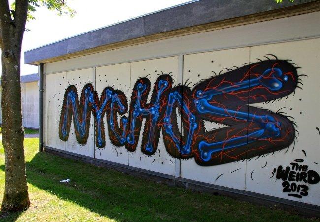 Работы Nychos в Дании