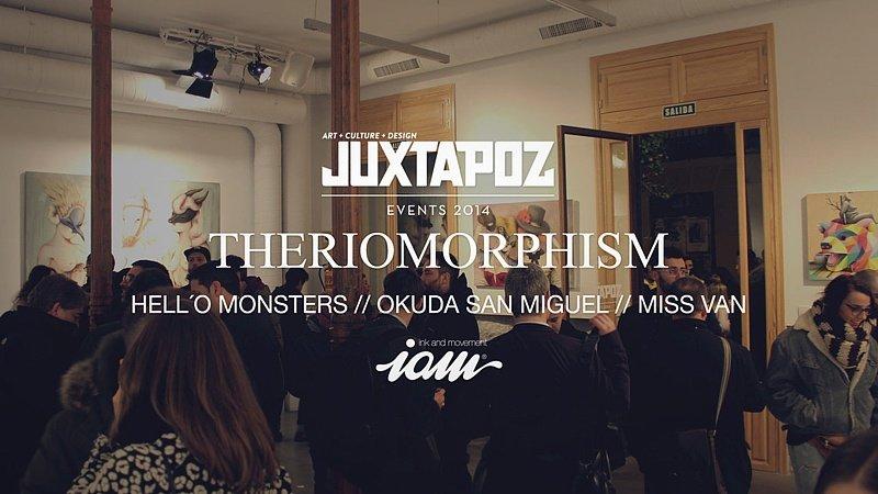 Выставка «Theriomorphism» в Мадриде + 3 видео