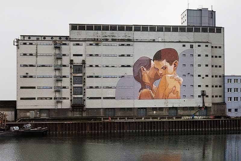 Видео ARYZ рисует в Австрии