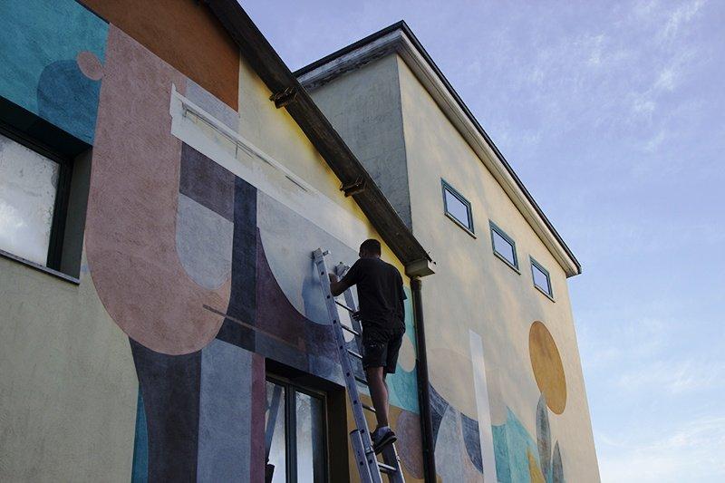 LUKA рисует в Италии