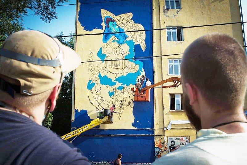 Фильм: Граффити и стрит-арт в России