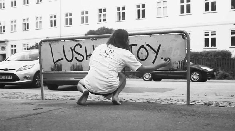 Видео: LUSH рисует в Копенгагене