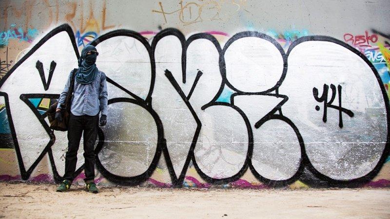 Видео: REMIO рисует на улице