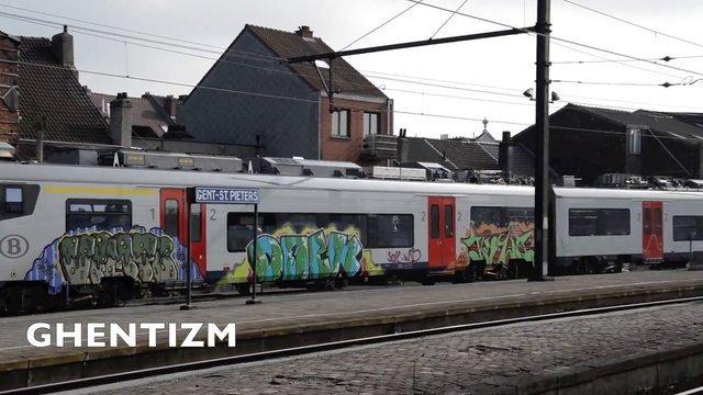Видео: Trainspotting Ghent-Belgium (1-3 часть)