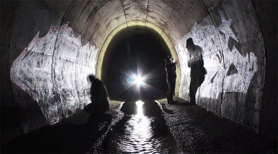 Граффити в тоннеле – Silk & Mavel