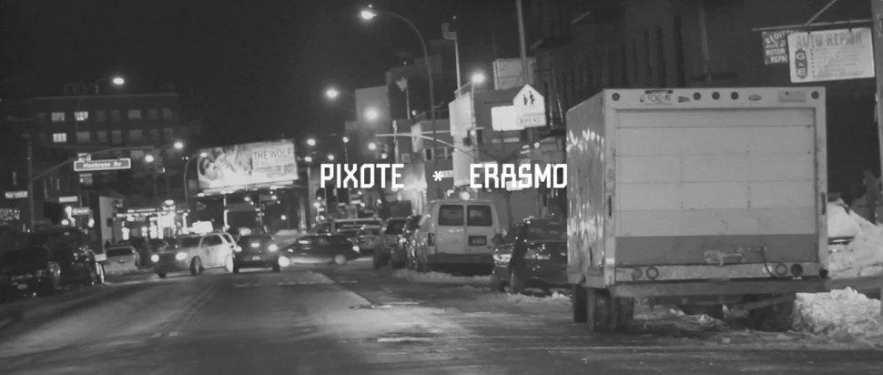 Видео: Pixote & Erasmo рисуют в Нью-Йорке