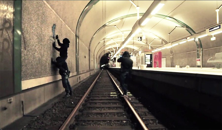 Видео: Граффити во Франкфурте