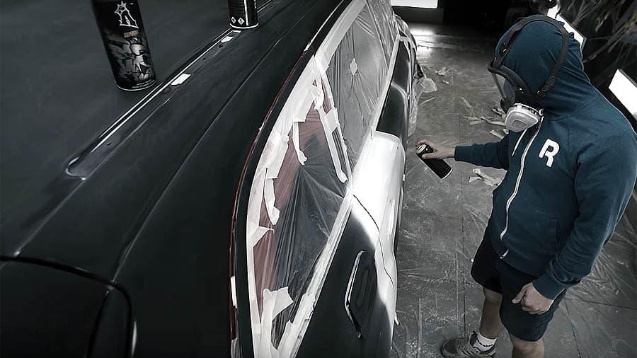 Видео: TRUN разрисовал Audi Q7