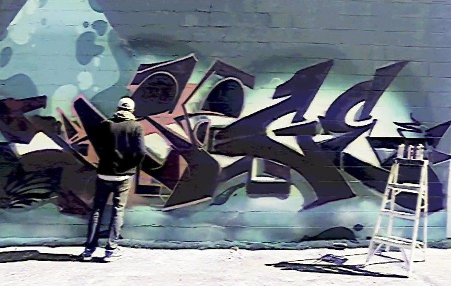 Граффити от AMUSE 126, SEGE и GREVE