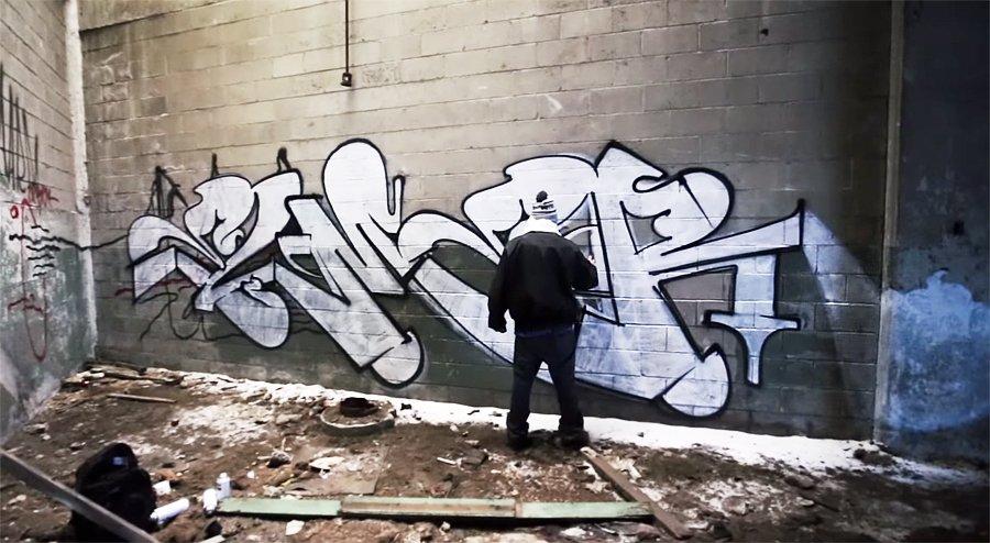 Граффити от Elmer