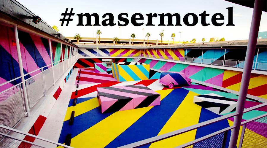 Арт-инсталляция от Maser #masermotel
