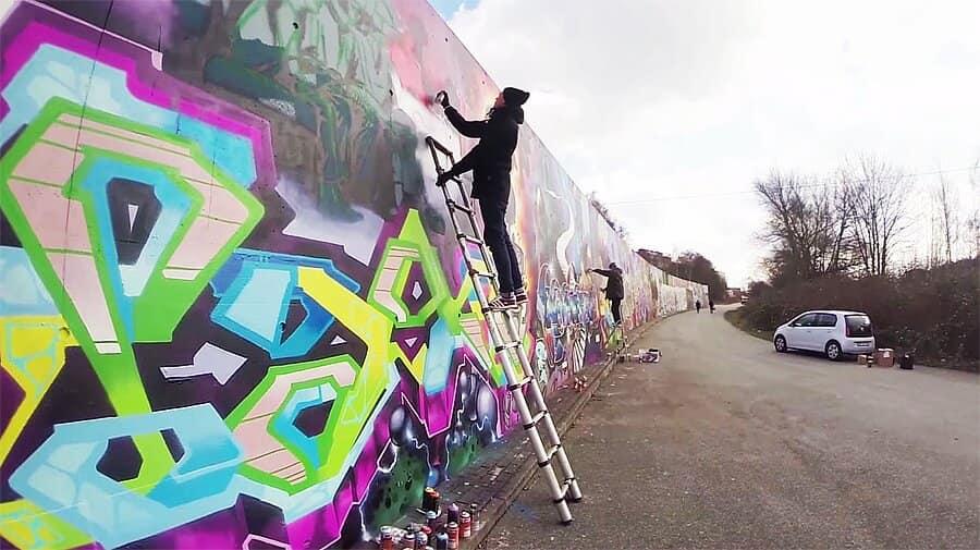 BIOS и PAKO рисуют в Гамбурге
