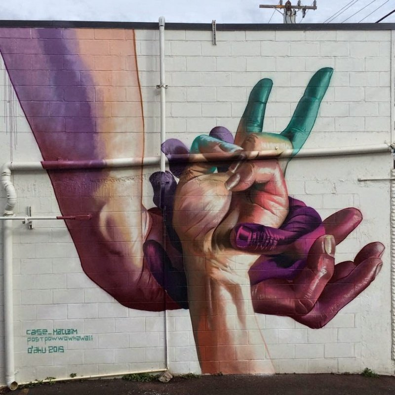 Граффити-марафон на Гавайях