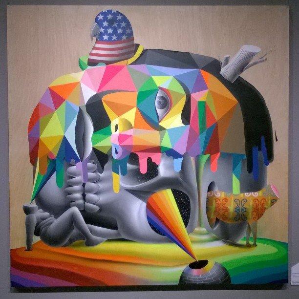 Проект64 – Выставка стрит-арт искусства