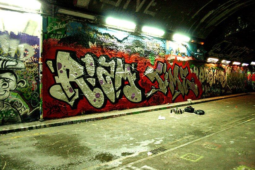Riam рисует в Лондоне