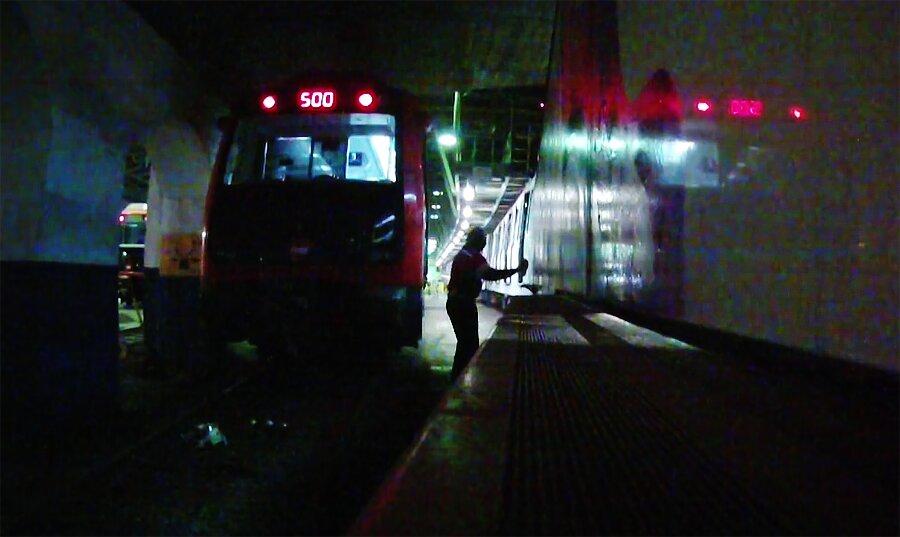 Бомбинг в метро Барселоны