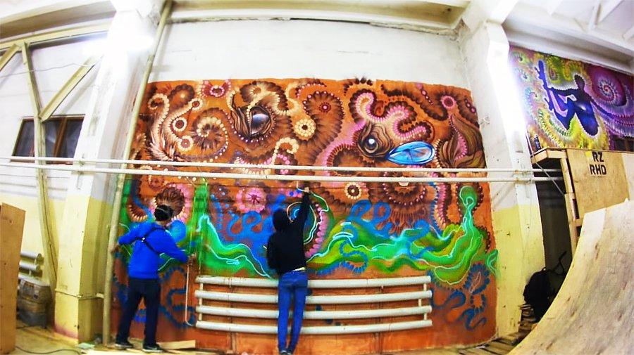 Graffiti by Bozik и Pin