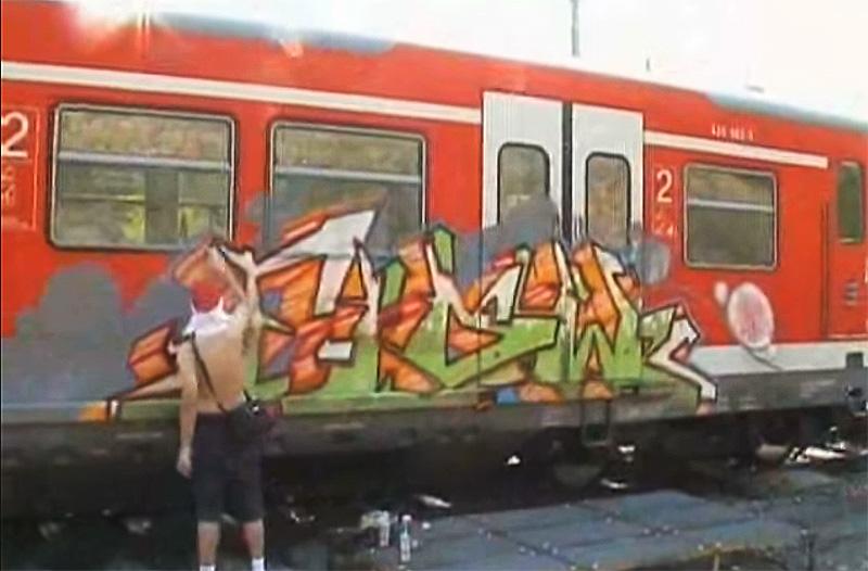 Burning Wheels (Graffiti DVD) # 1-2
