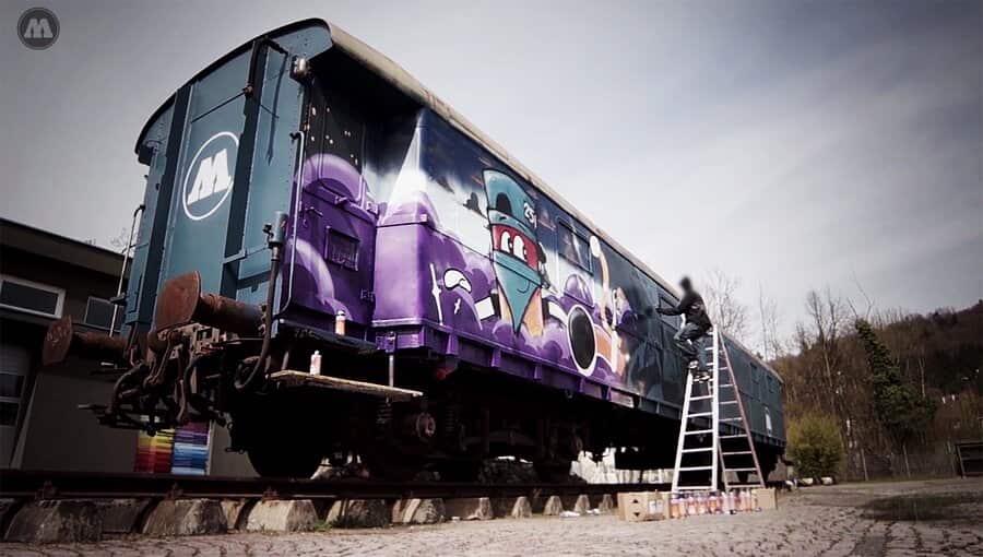 The MOLOTOW™ Train — FINO