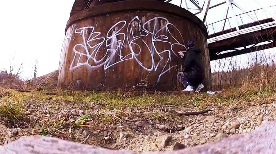 Graffiti by KICKIT crew