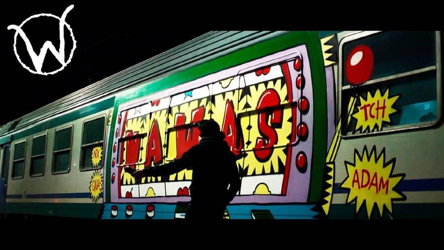 NAWAS & RFC – Граффити-бомбинг в Италии