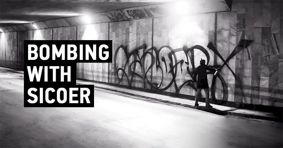 TagsAndThrows – Bombing With Sicoer