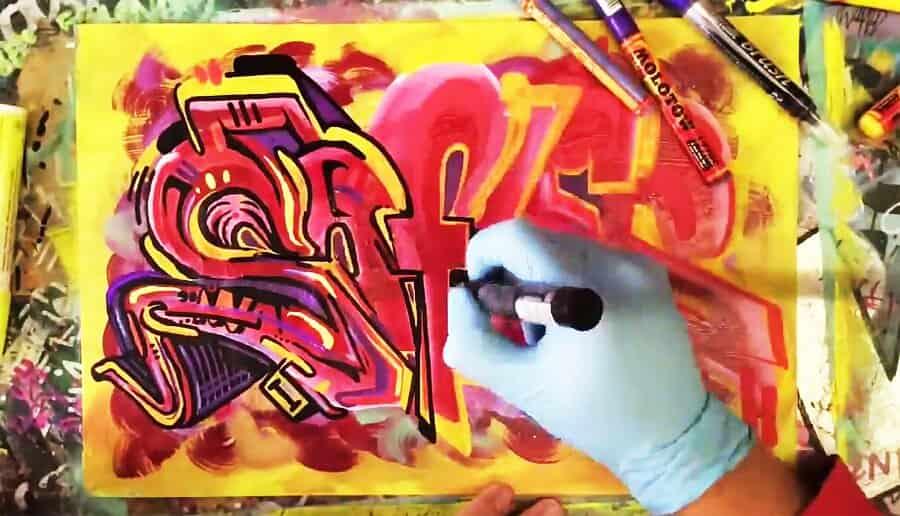 SOFLES – Blackbook Graffiti Drawing