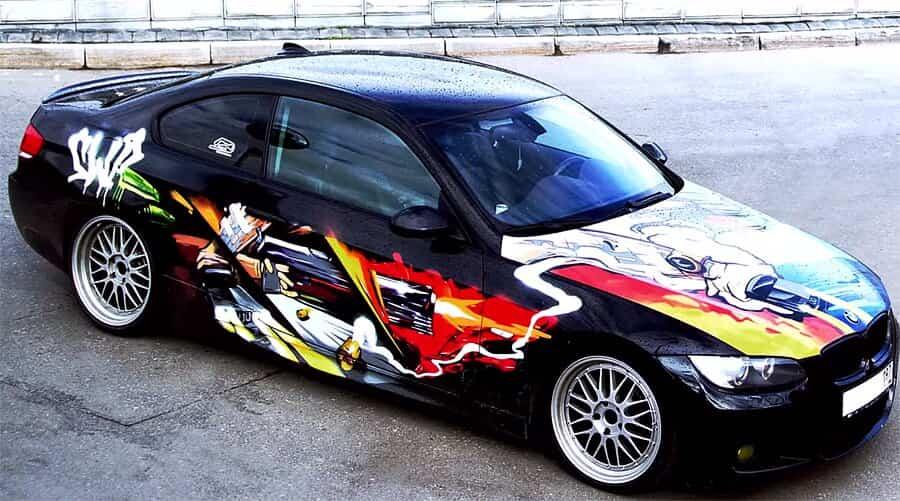 SWAMP разрисовал BMW 3