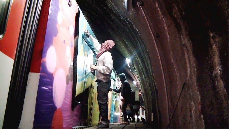21 PLUS CREW – Бомбинг в метро