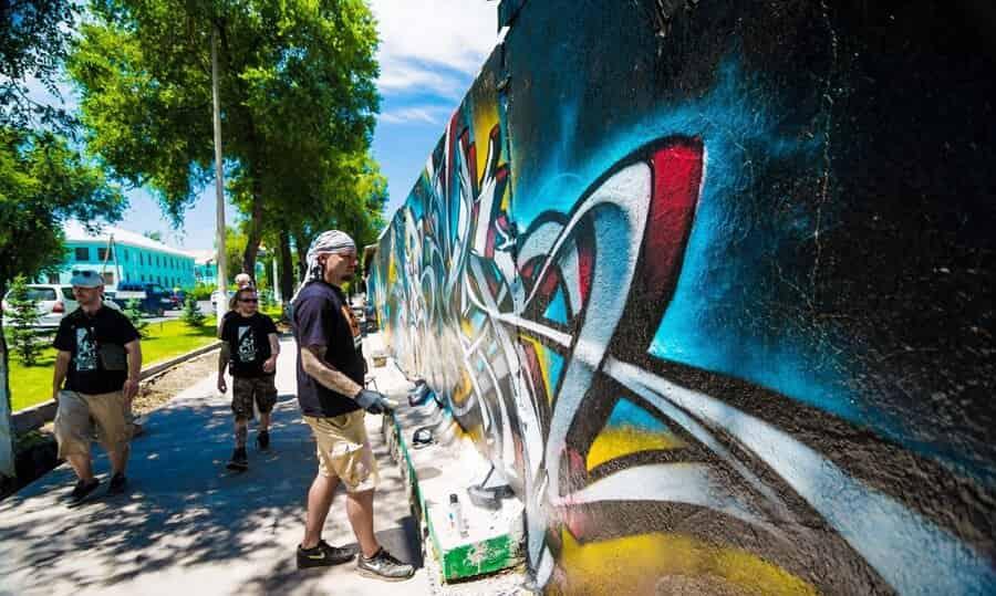 TSF crew – Граффити-тур в Киргизии