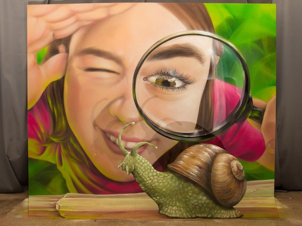 3D-оформление галереи Иллюзорро