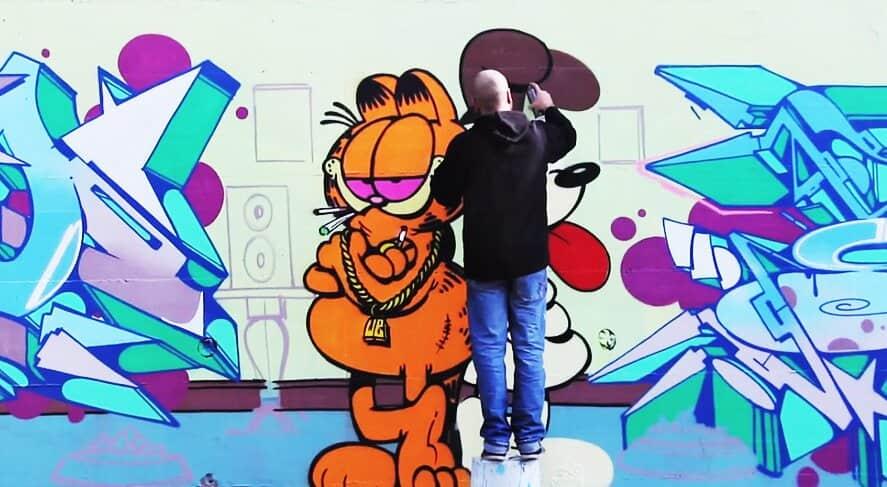 Граффити от ZEUS 40