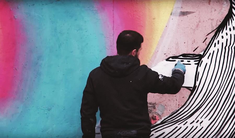 Aber рисует в Ижевске
