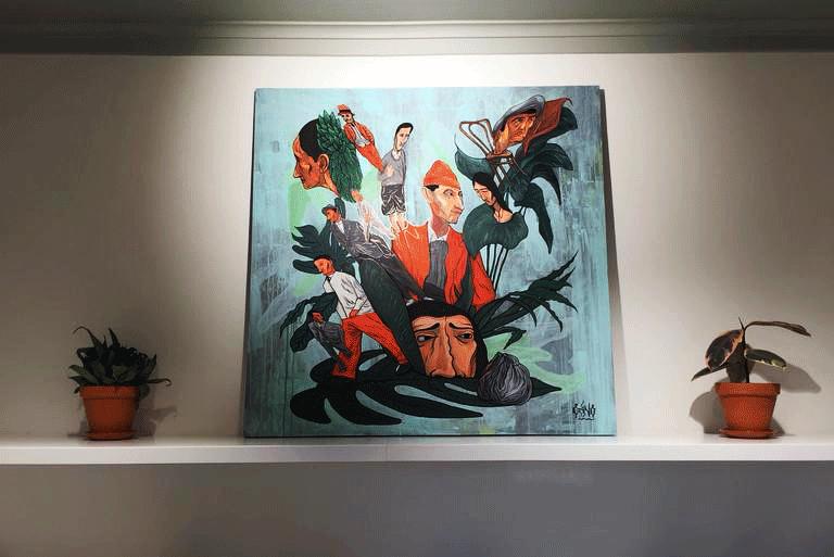 Выставка Grino – Вне поля зрения