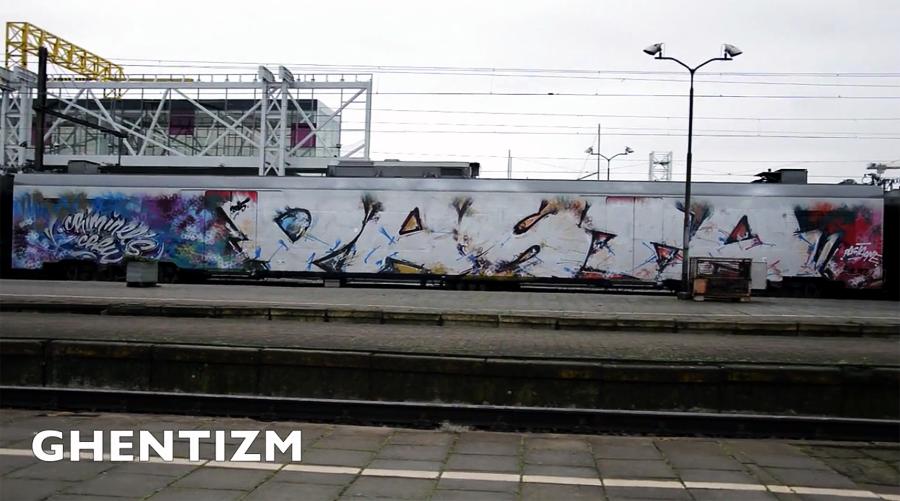 Trainspotting Ghent-Belgium: ноябрь