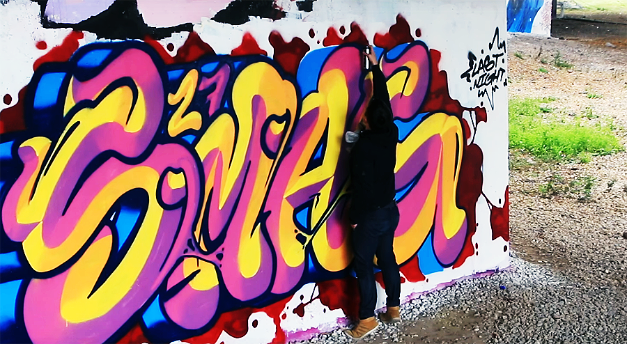 Граффити от Smagy