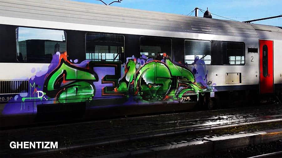 Trainspotting Ghent-Belgium: Январь 2016
