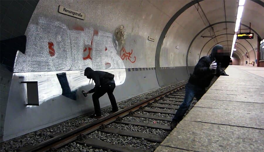 Subway Station Graffiti