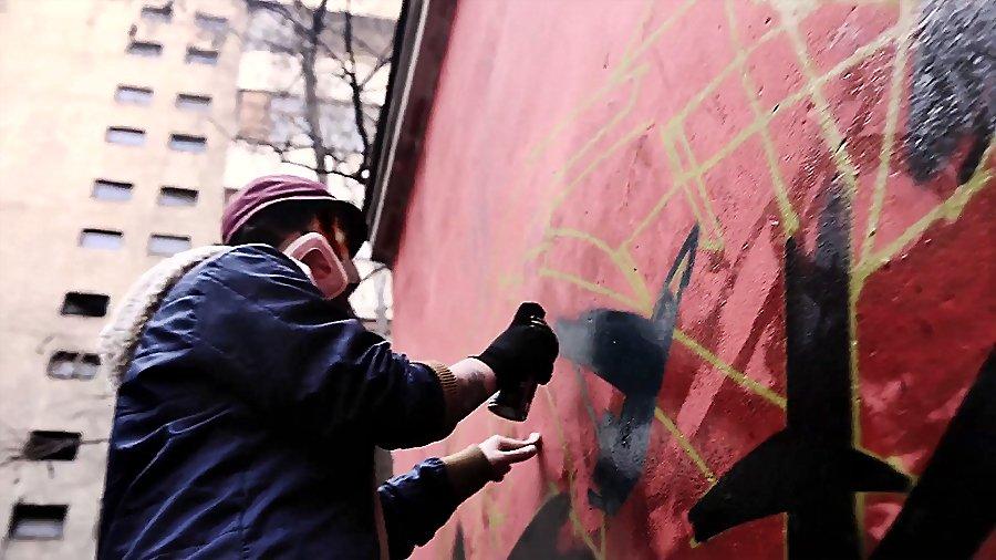 KNIGHT x KANT – GRAFFITI ALMATY