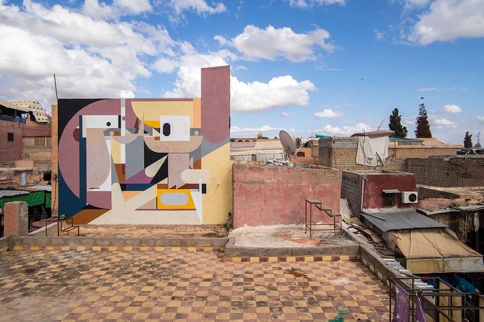 MB6: Street Art 2016 в Марракеше