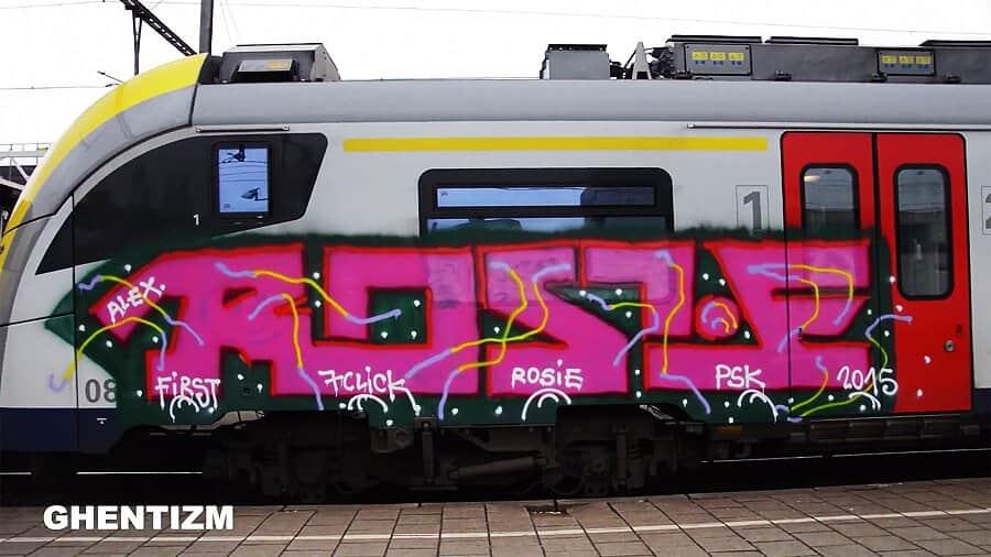 Trainspotting Ghent-Belgium: Март 2016