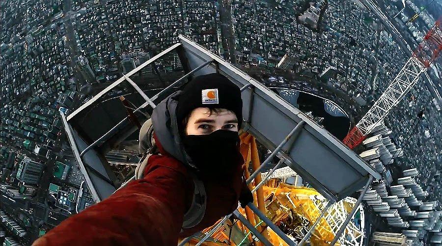 Руферы покорили небоскреб в Южной Корее