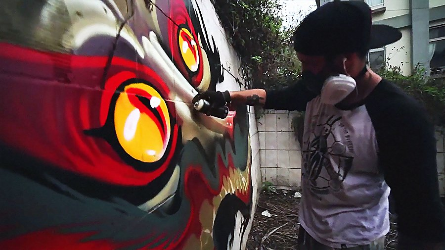 Nychos X Udon LORDS crew in Taiwan