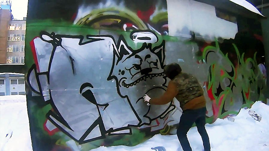 Remes TBWS – Graffiti actions