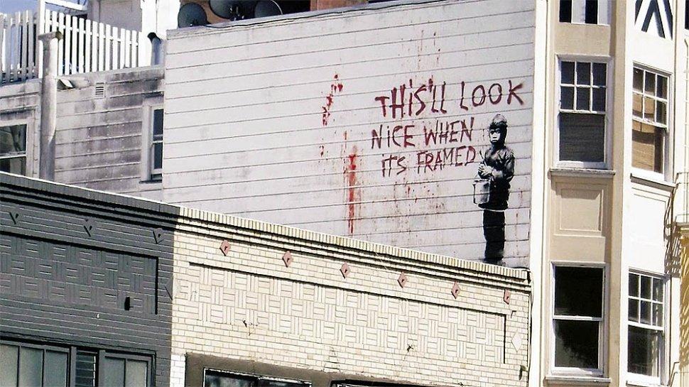 Трейлер. Saving Banksy