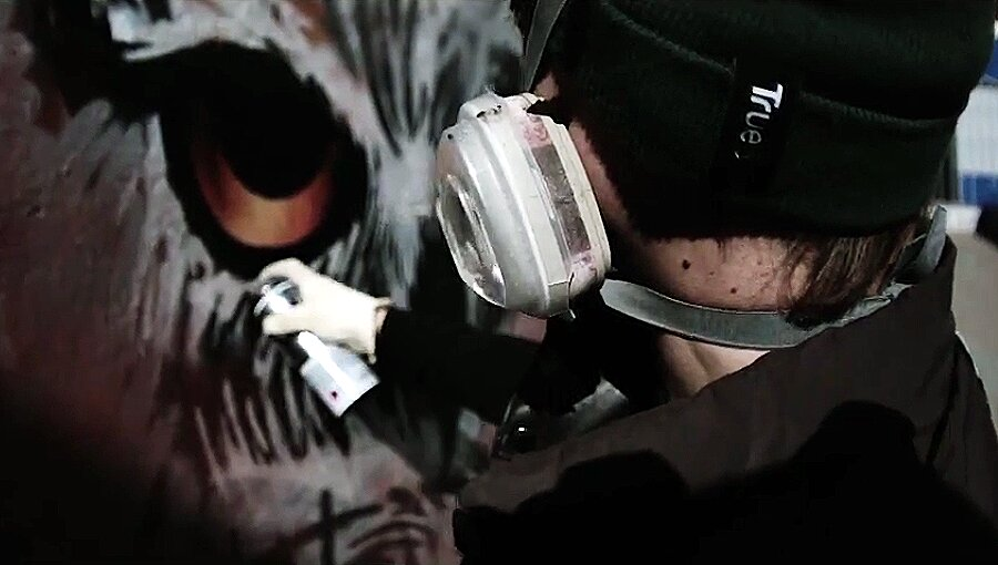 ZWS CREW Graffiti action